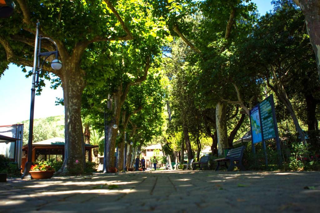 Il Parco delle Terme di Telese